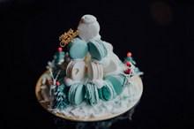 马卡龙装饰蛋糕图片下载