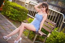 亚洲人体147长腿美女图片素材