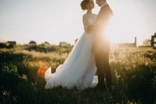 非主流唯美婚纱照图片素材