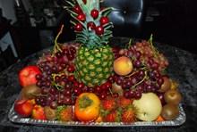 营养水果拼盘图片