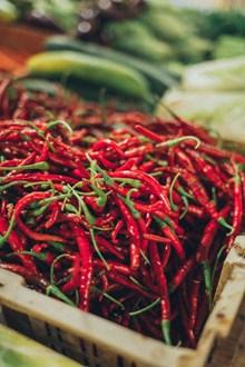新鲜的红辣椒图片