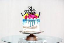 真的鲜花蛋糕图片