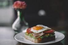 自制营养早餐图片素材
