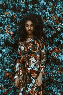 非洲艺术黑人美女写真高清图片
