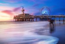 海边梦幻建筑唯美高清图