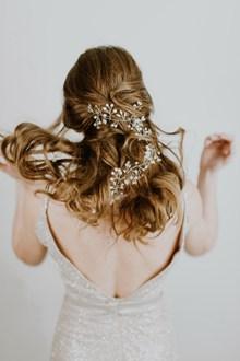 韩式新娘发型图片素材