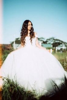 婚纱个人艺术照图片素材