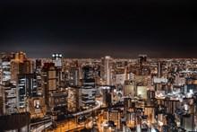 繁华都市灯光景观图片下载