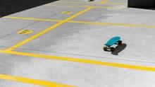 四轮滑板车图片
