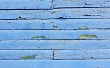 蓝色木板背景精美图片