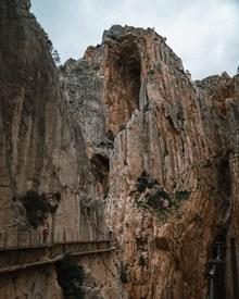 山崖峡谷风光高清图