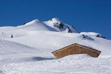 冬天高山雪景精美图片