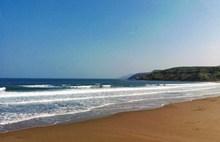 海滩海浪蔚蓝大海精美图片