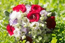 漂亮婚礼手捧花图片