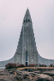 哈尔格林姆斯教堂高清图