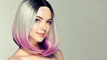 沙宣短发发型染发图片