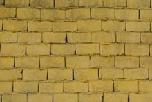黄色砖墙背景照片图片大全