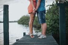 情侣双腿特写高清图片