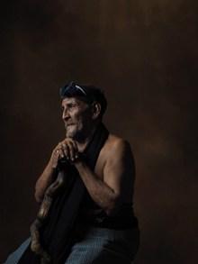 外国农家老人图片