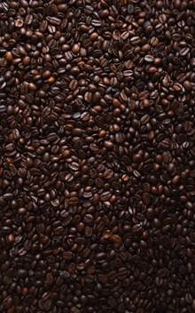 棕色咖啡豆背景高清图片