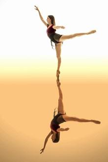 芭蕾舞跳舞美女图片下载