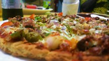 美味营养披萨精美图片