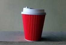 红色纸杯图片素材