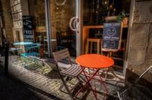 咖啡厅桌椅图片素材