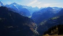 瑞士山脉景观图片
