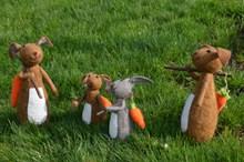 复活节玩具兔子图片