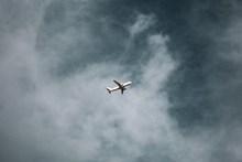 飞机飞行的图片素材