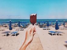 巧克力雪糕精美图片