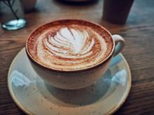 花式拉花咖啡图片下载