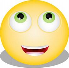 黄色笑脸表情设计图高清图片