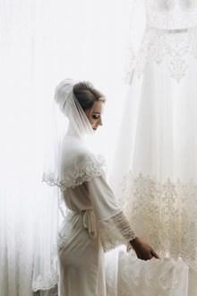 唯美新娘单人婚纱精美图片