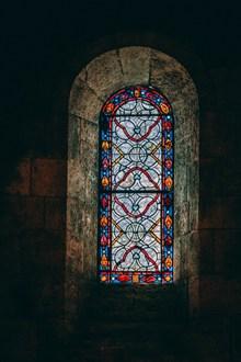 教堂玻璃彩色花窗 教堂玻璃彩色花窗大全高清图片