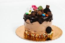 巧克力布朗尼蛋糕图片下载