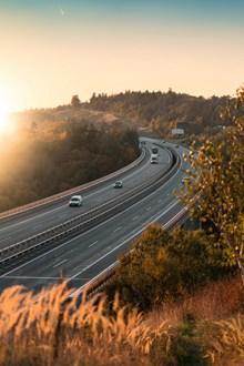 高速公路行车精美图片