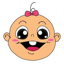 女娃娃卡通头像图片