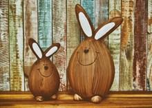 复活节另类卡通兔子精美图片