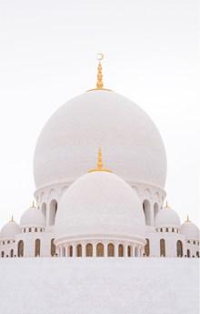迪拜阿布扎比清真寺高清图