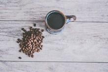 一杯瘦身黑咖啡精美图片