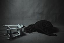 孤独伤感女生图片