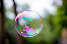 剔透肥皂泡泡高清图