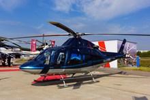 机场直升机精美图片