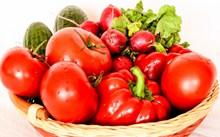 红色有机蔬菜图片大全