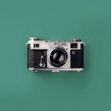 复古基辅牌照相机图片