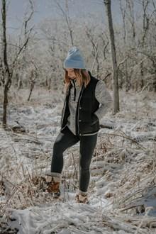 冬季羽绒服美女图片大全