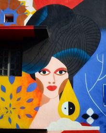 创意墙绘艺术图片素材
