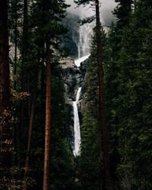 山林瀑布流水 山林瀑布流水大全高清图片